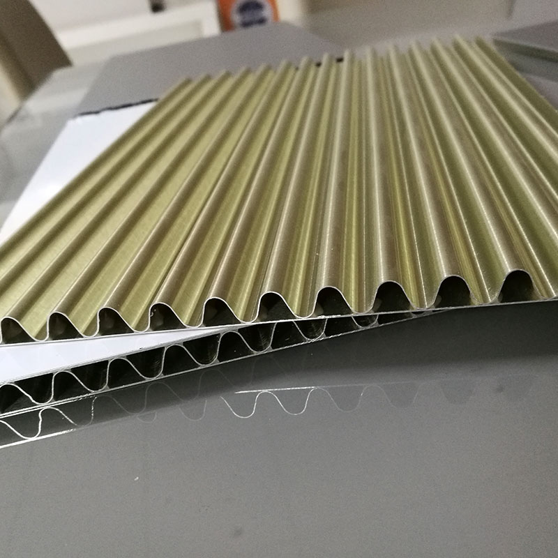 Aluminum Corrugated Panel Is Safer In The Application