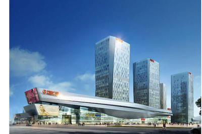 Beijing Tongzhou Wanda Plaza 23700