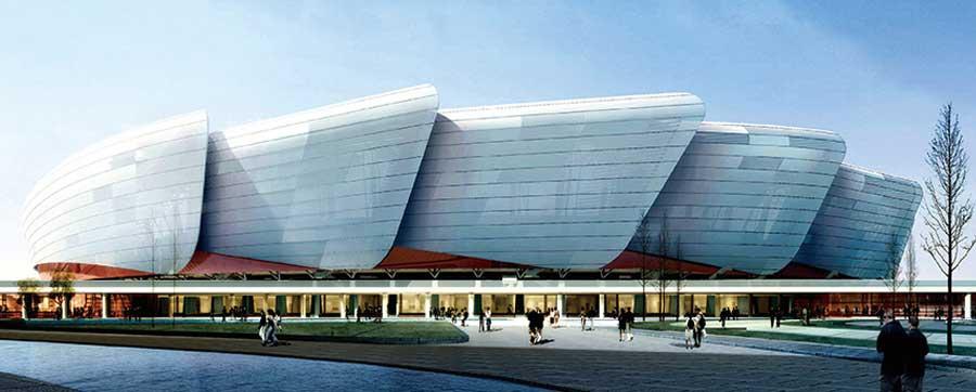 Jiangsu Yancheng Gym 18000